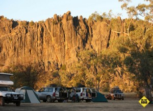 Windjana camping