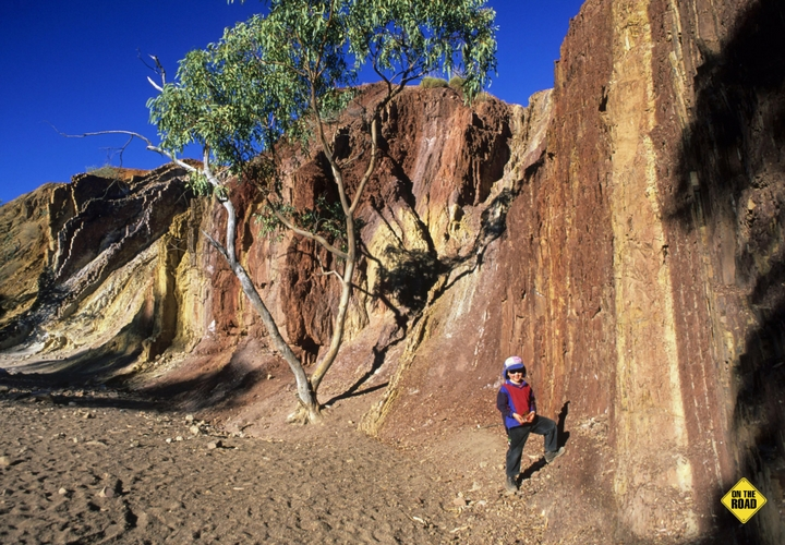 Ochre pits - Western MacDonnell Ranges - Central Australia, NT
