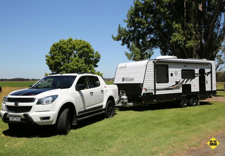 """External view of Essential Caravans 20'6"""""""