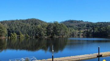 Lake Barrington Camp Areas