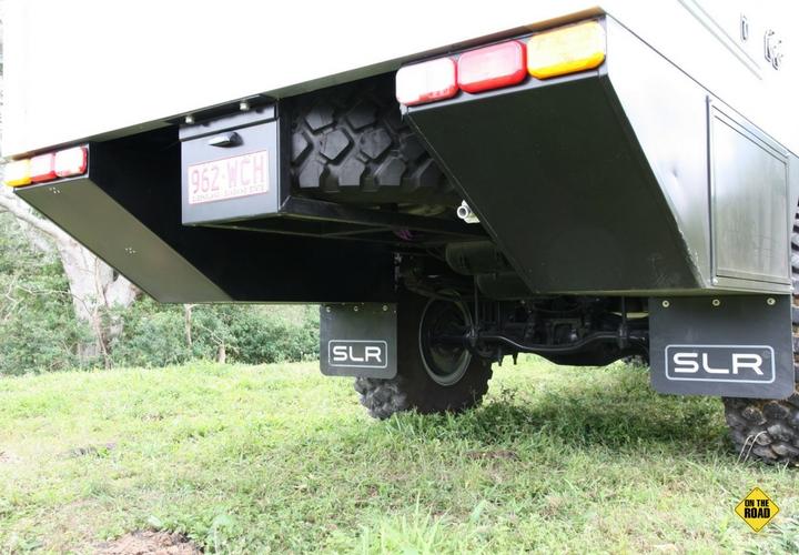 Rear cutaway