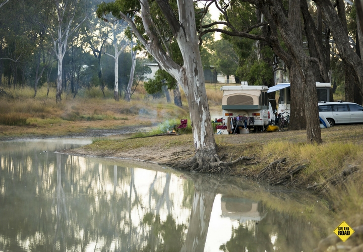 Stay as long as you like at Judds Lagoon, a picturesque free camp at Yuleba