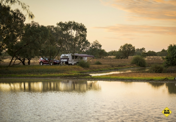 Winton's idyllic Long Waterhole camp