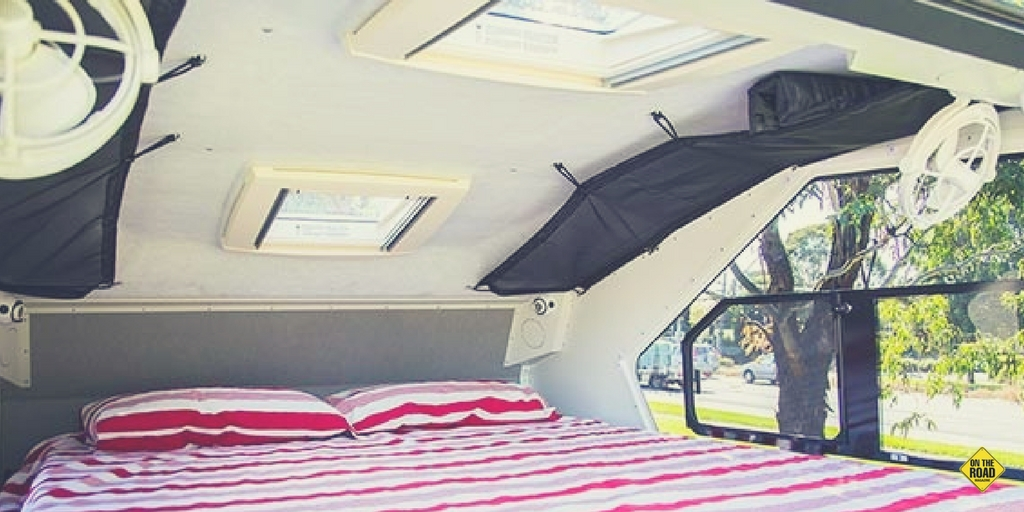 TVAN FIRETAIL new roof - ON THE ROAD