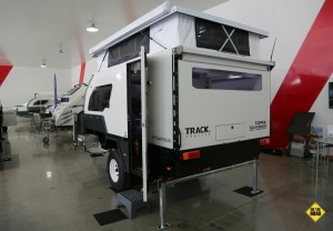 Track Trailer rear view