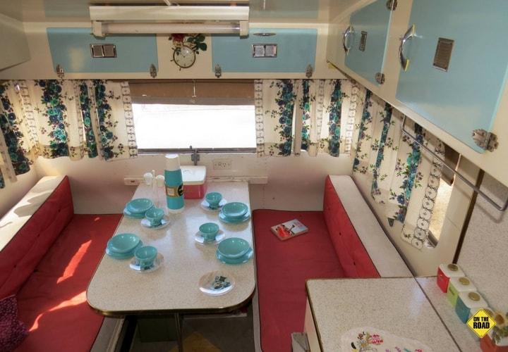 1950s Clipper Caravan dining
