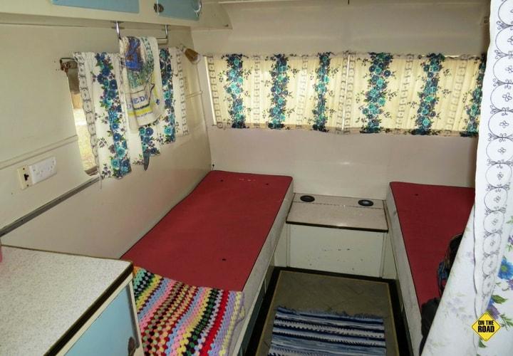 1950s Clipper Caravan interior