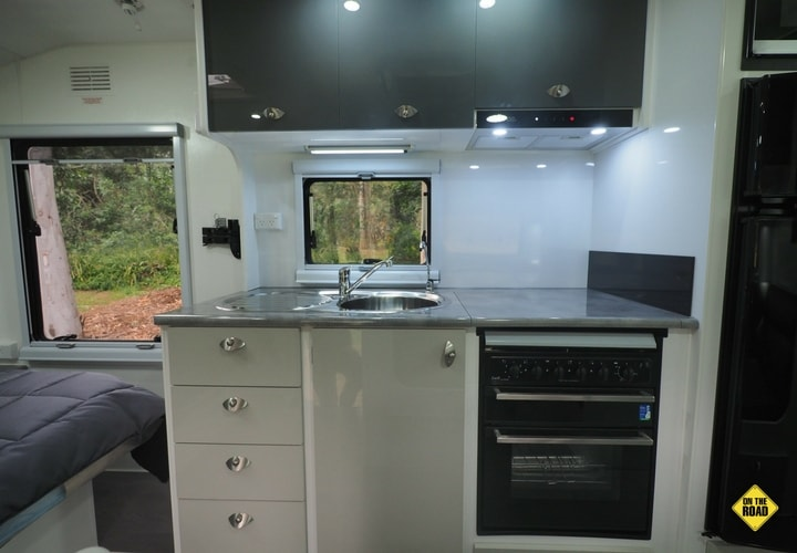 "Aura Titanium Mk2 17'6"" with Explorer Pack kitchen"