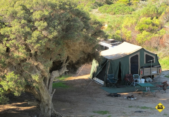 Camping at Sandy Cape