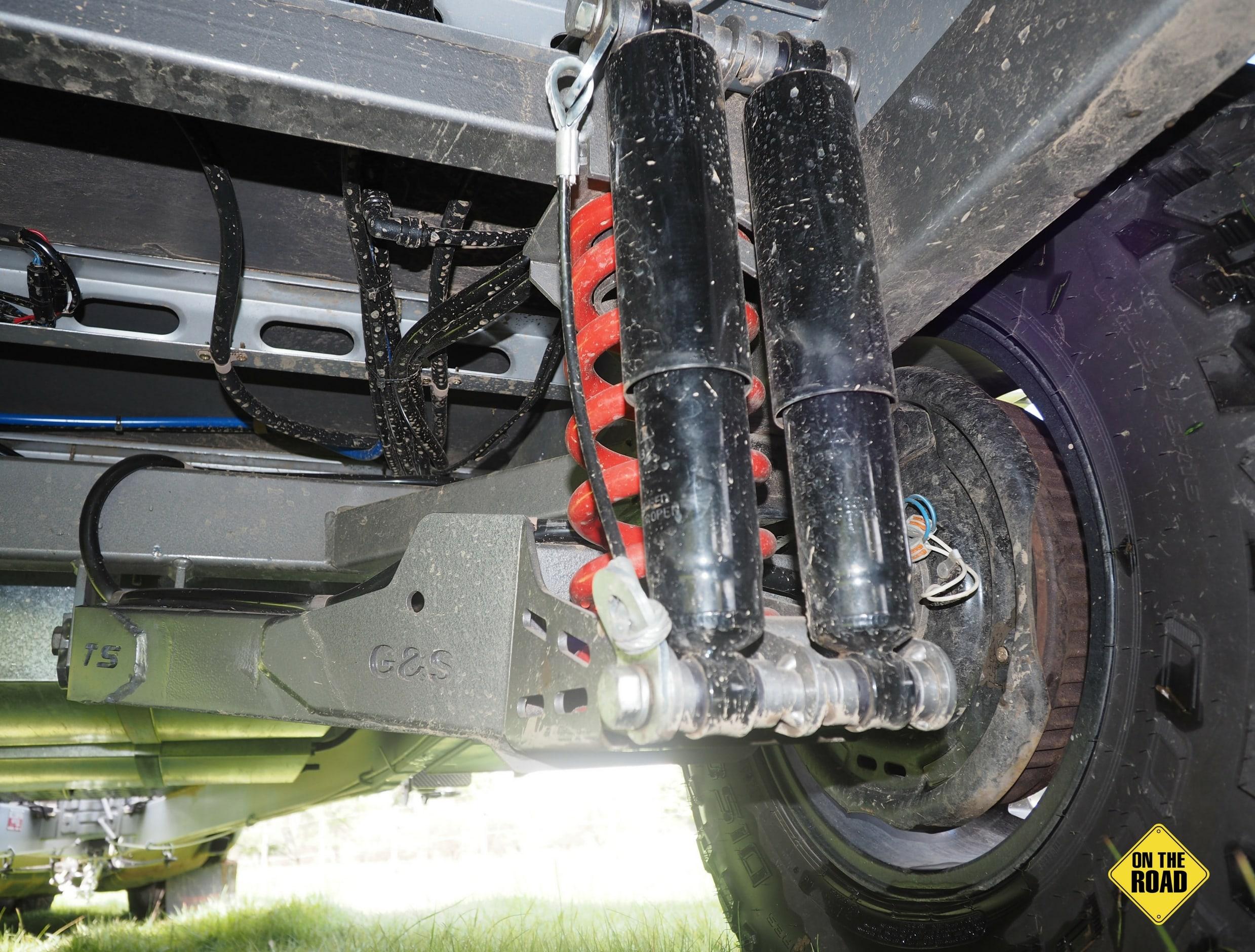 Bushmaster Ironbark chassis