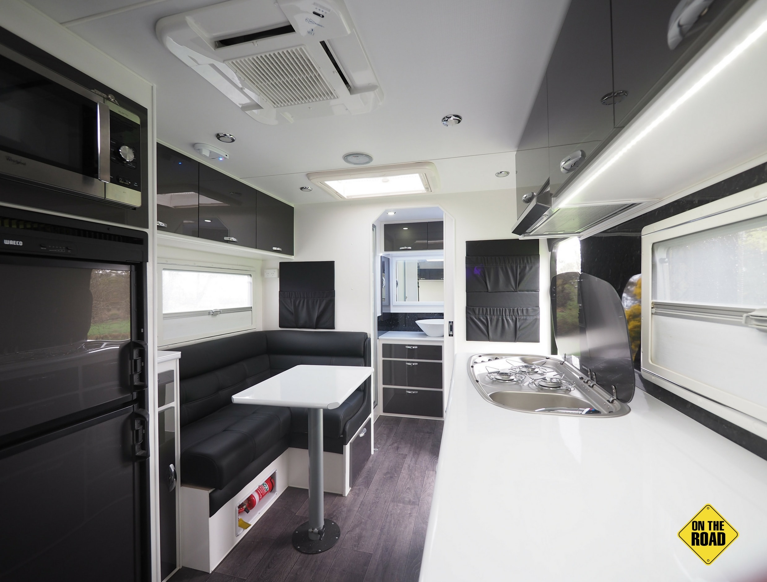 Bushmaster Ironbark kitchenette interior