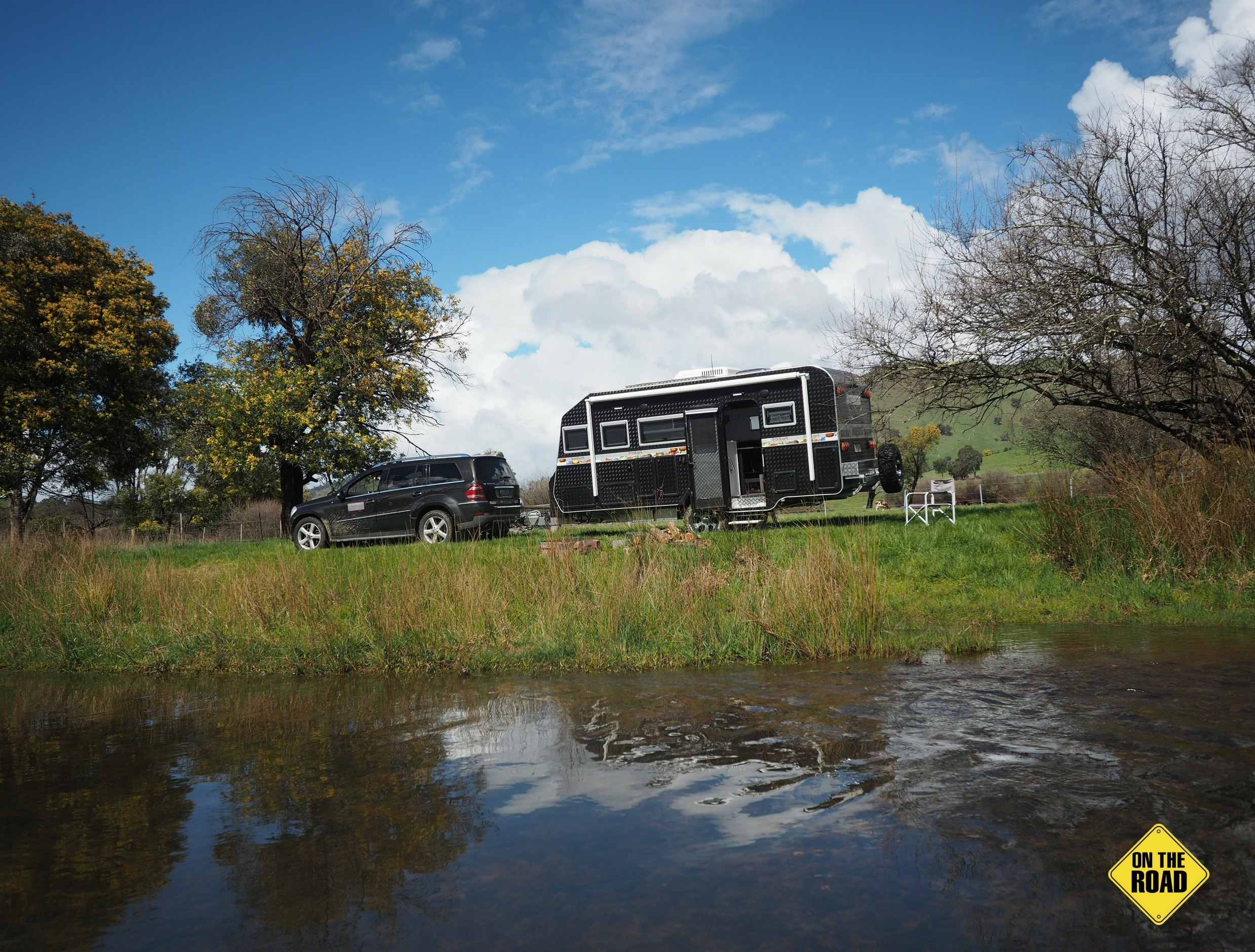Bushmaster Ironbark park in the river