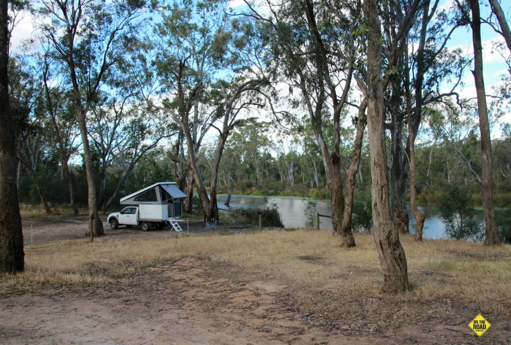 Camping at Majors Creek Reserve at Mitchellstown