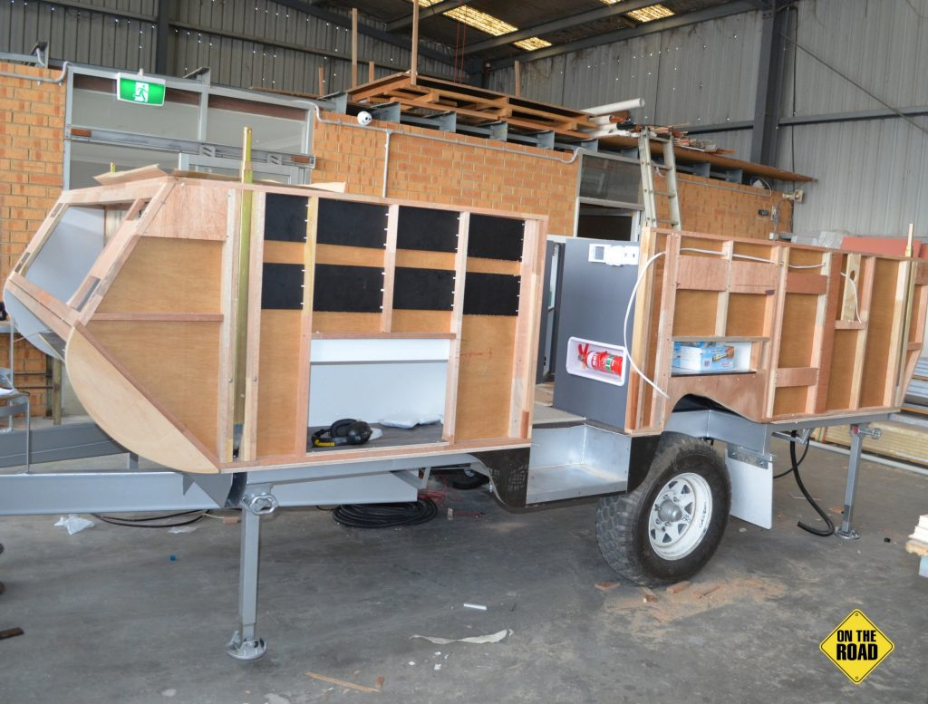 Goldstream RV Project Nugget in the making