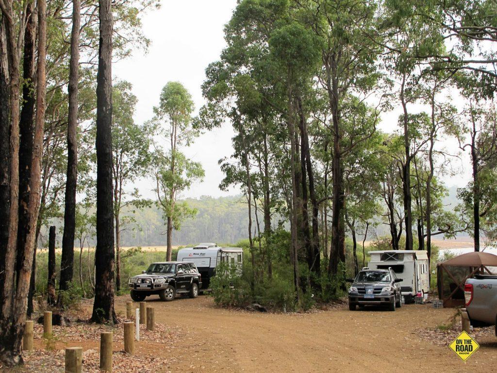 Potters Gorge campsite