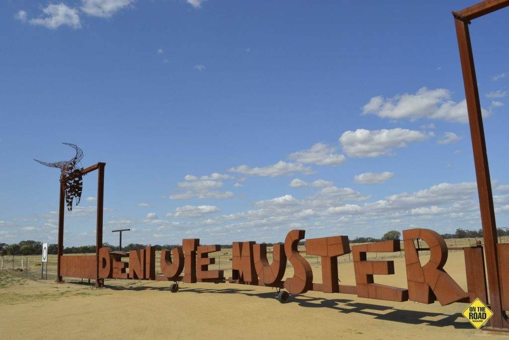 The UTE Muster Gates