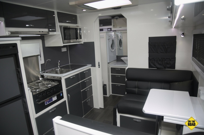 Bluegum dinette and kitchen