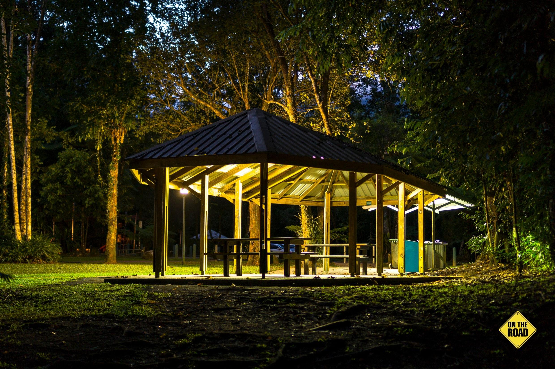 Good camping and picnic facilities make this spot a rare find