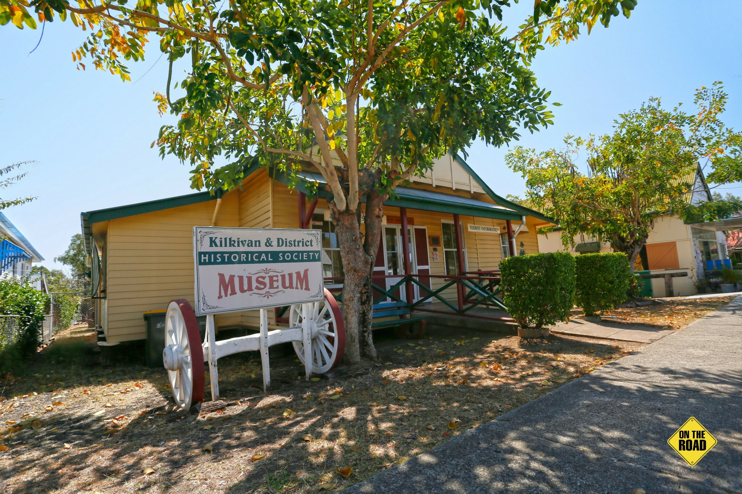 The Kilkivan and District Historical Society Museum is well worth a visit