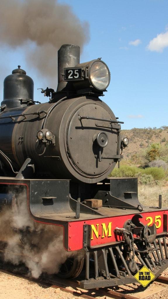 A restored Pichi Richi Railways loco