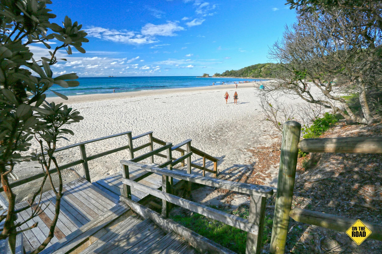 Clarkes Beach beckons