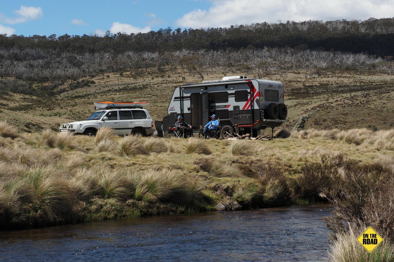 Jayco Adventurer 16 in creek side