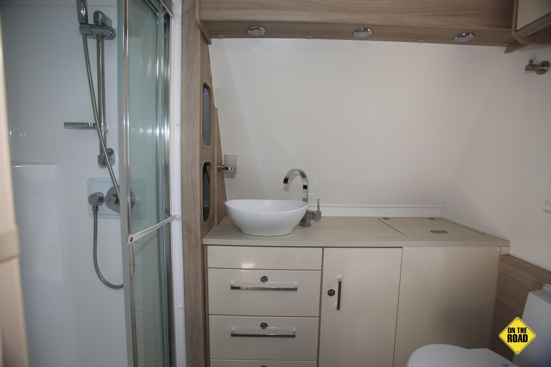 Jayco Adventurer 16 toilet sink
