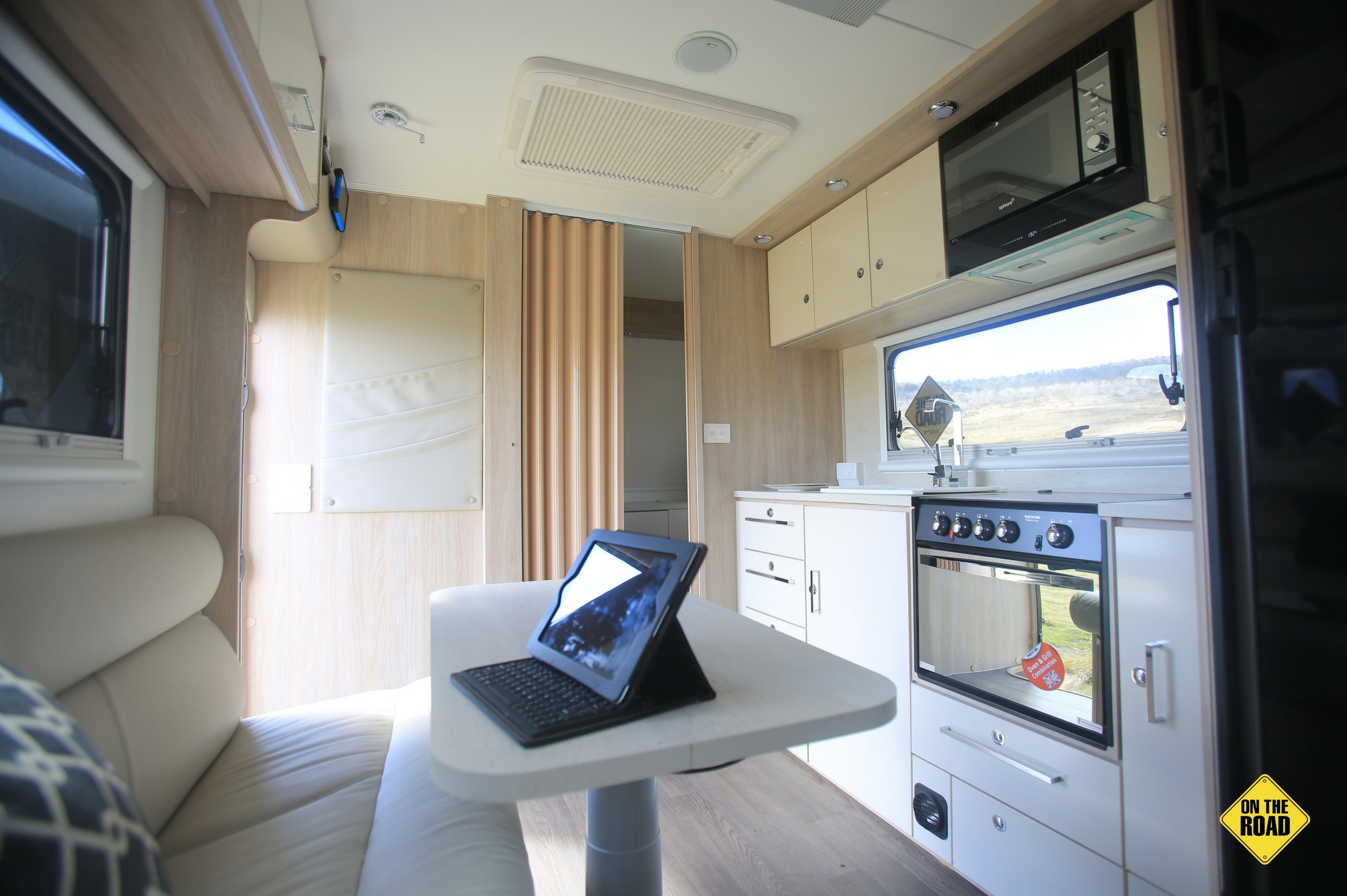 Jayco Adventurer dining and kitchen