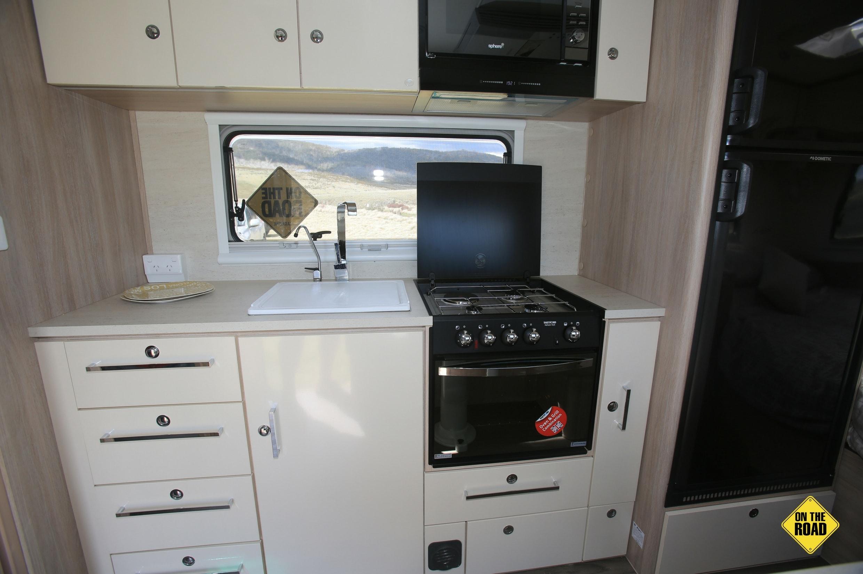 Jayco Adventurer kitchen