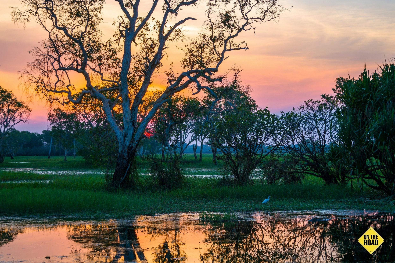 Magic hour on Yellow Water Billabong Kakadu National Park