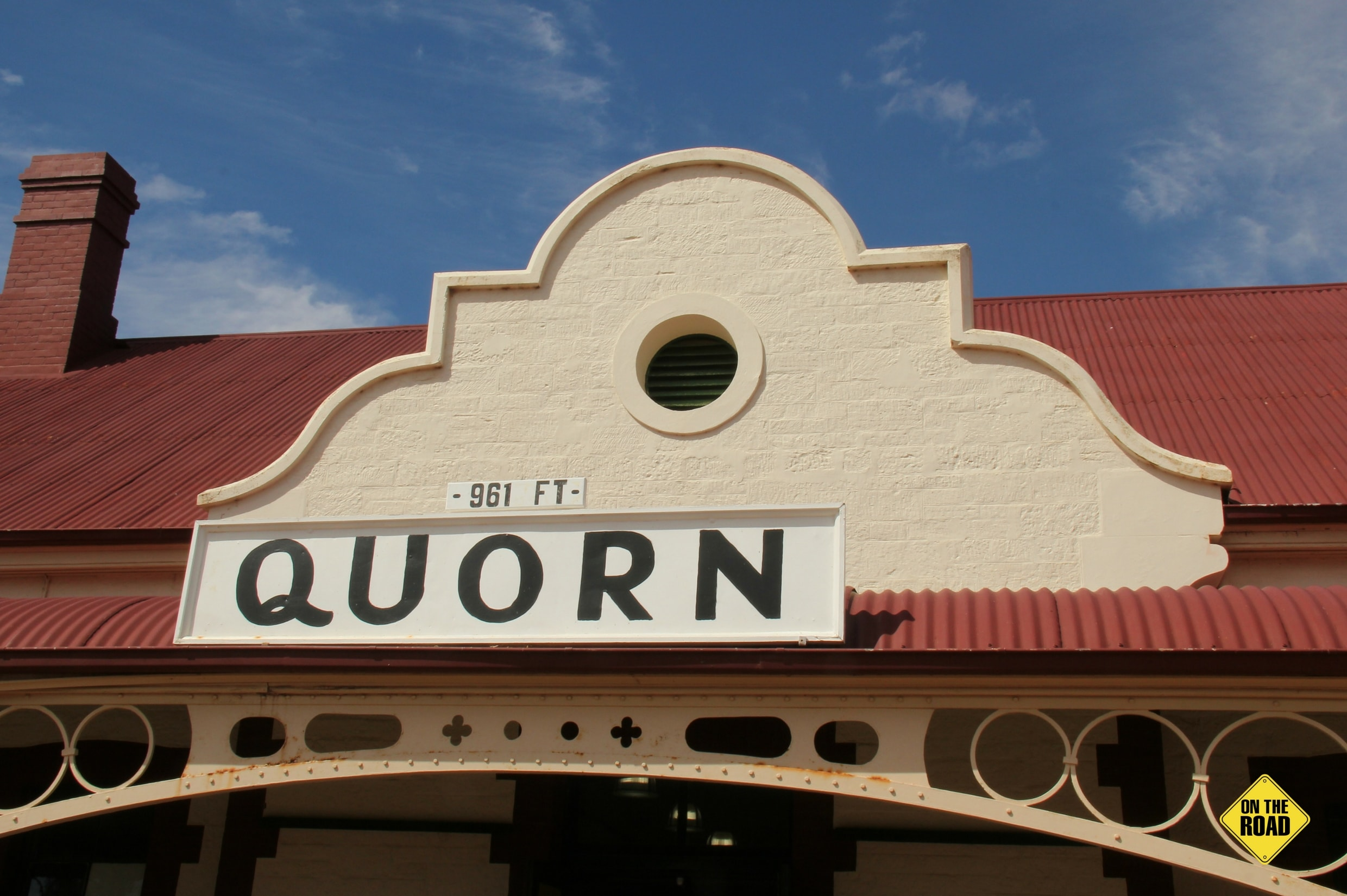 The Quorn Railway Station