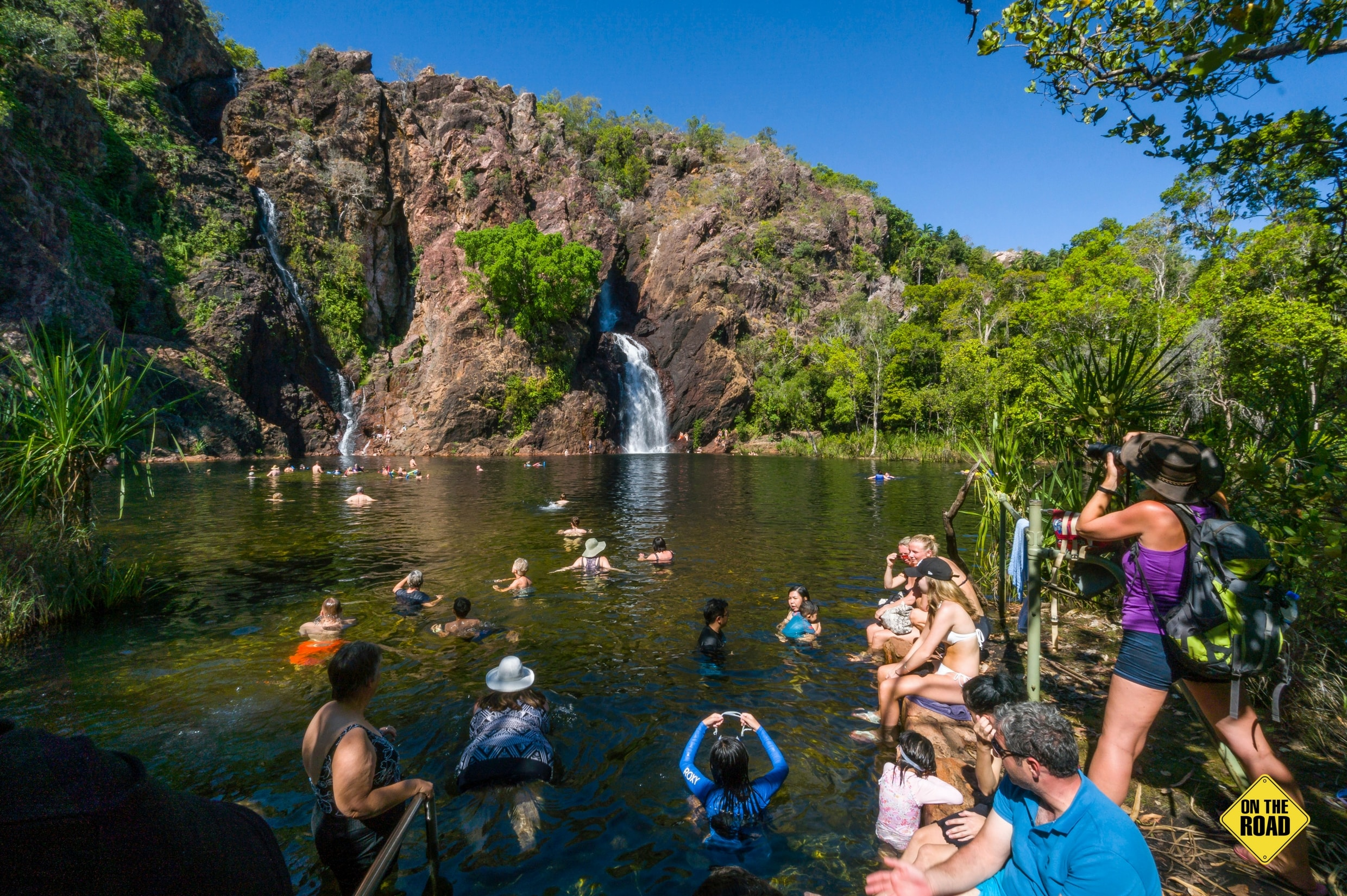 The ever-popular Wangi Falls Litchfield National Park