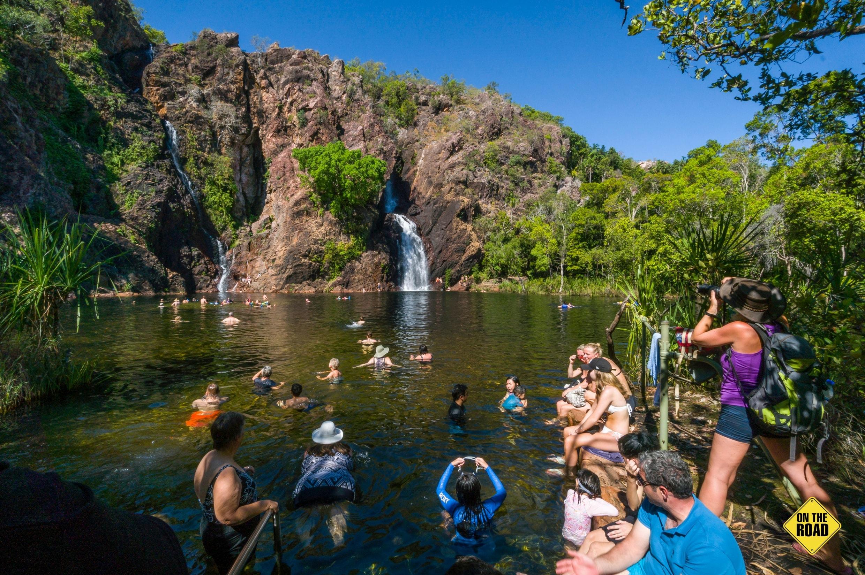 The ever-popular Wangi Falls Litchfield National Park