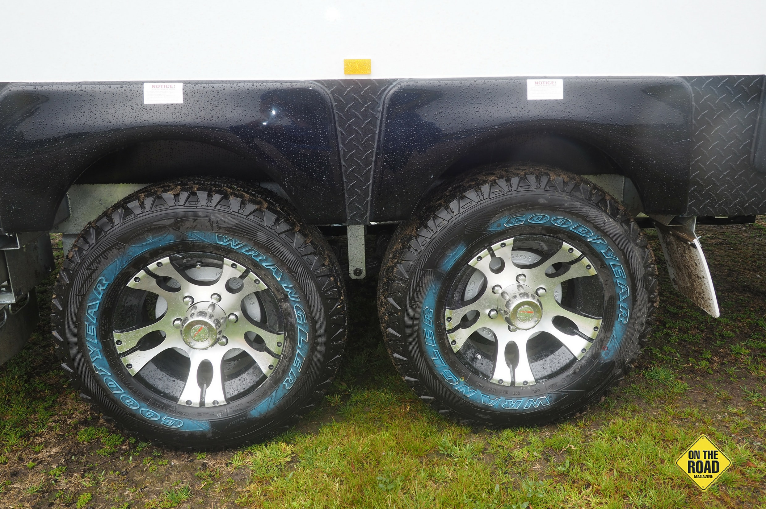 Alloy wheels set the look off really well