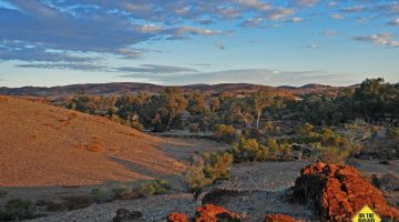 Backtracks of the Remote Northern Flinders
