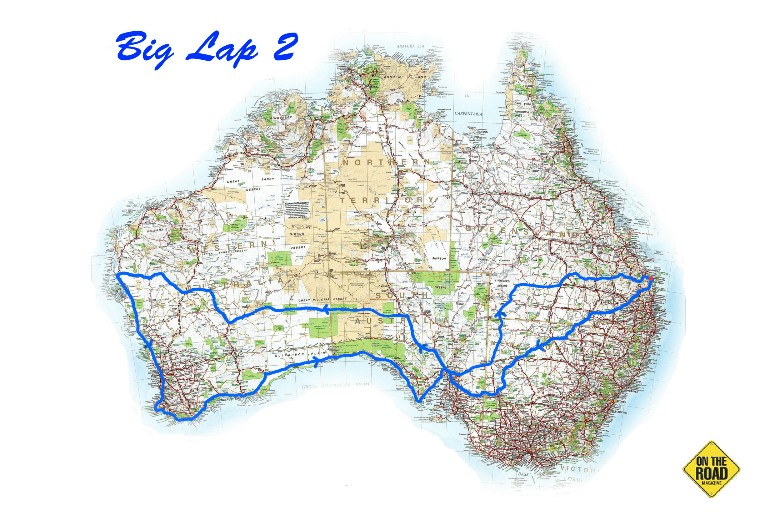 Big Lap map 2