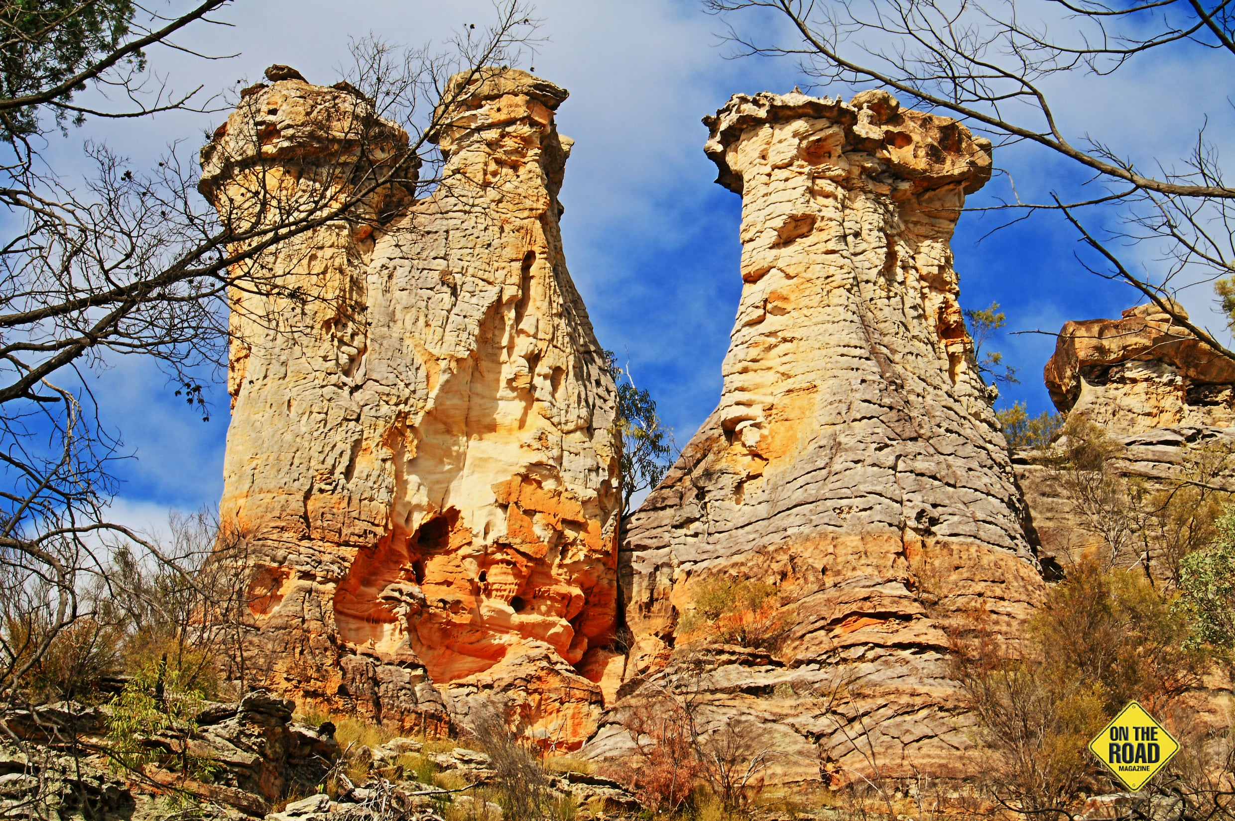 The final amazing sandstone formation and one of the most memorable, The Chimneys