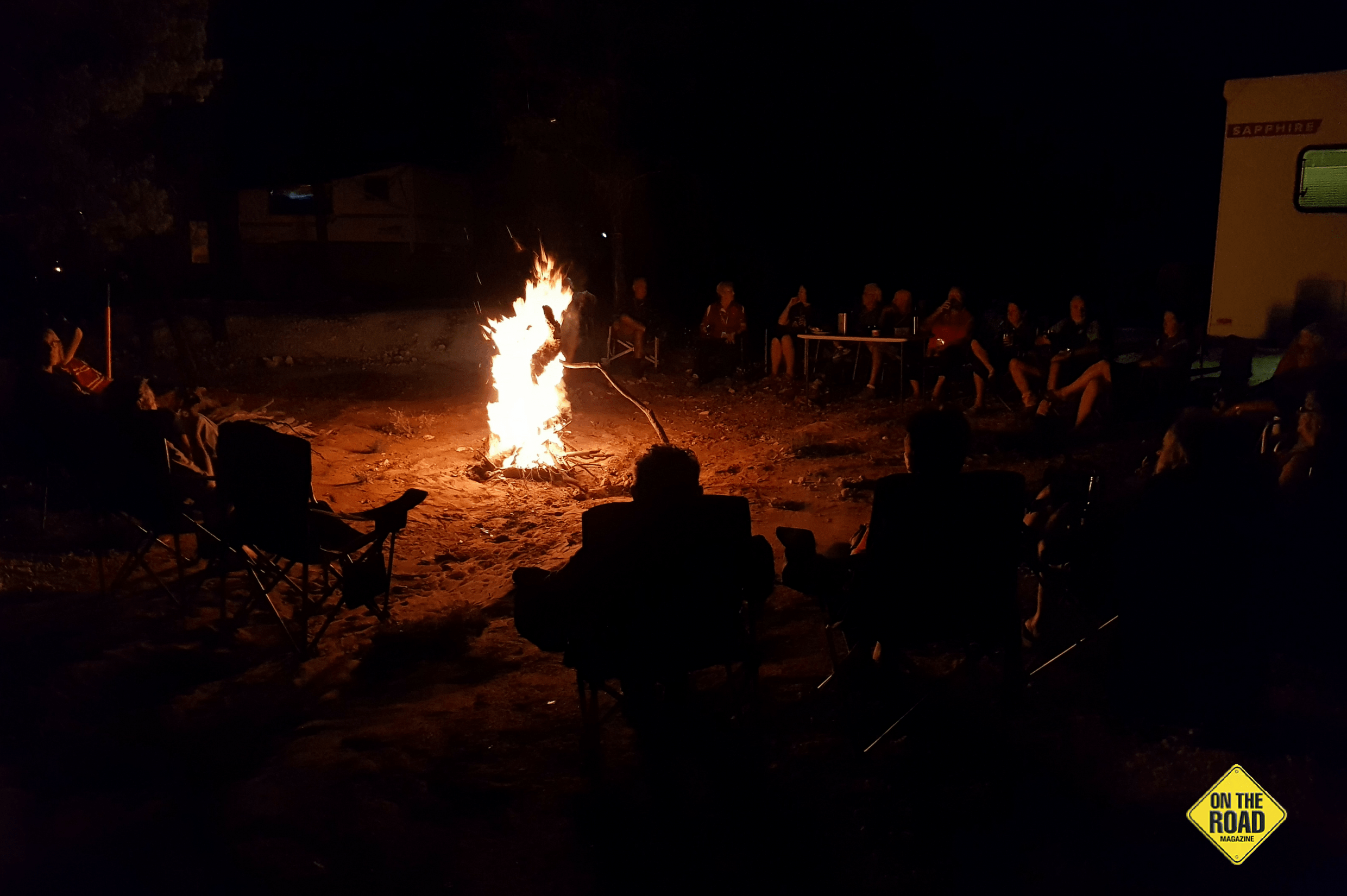 Campfire NSW Opal Fields