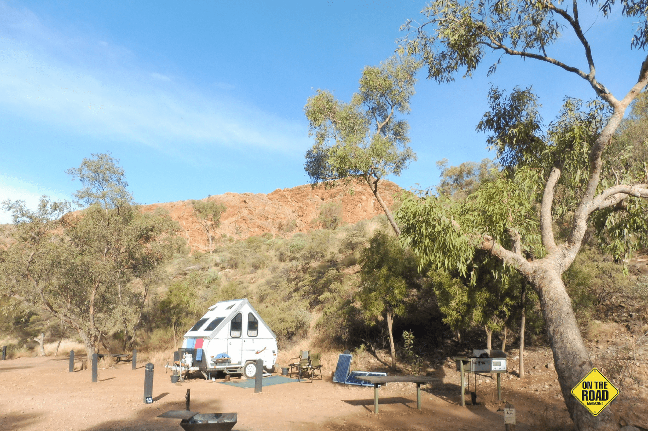 Camping at Trephina Gorge