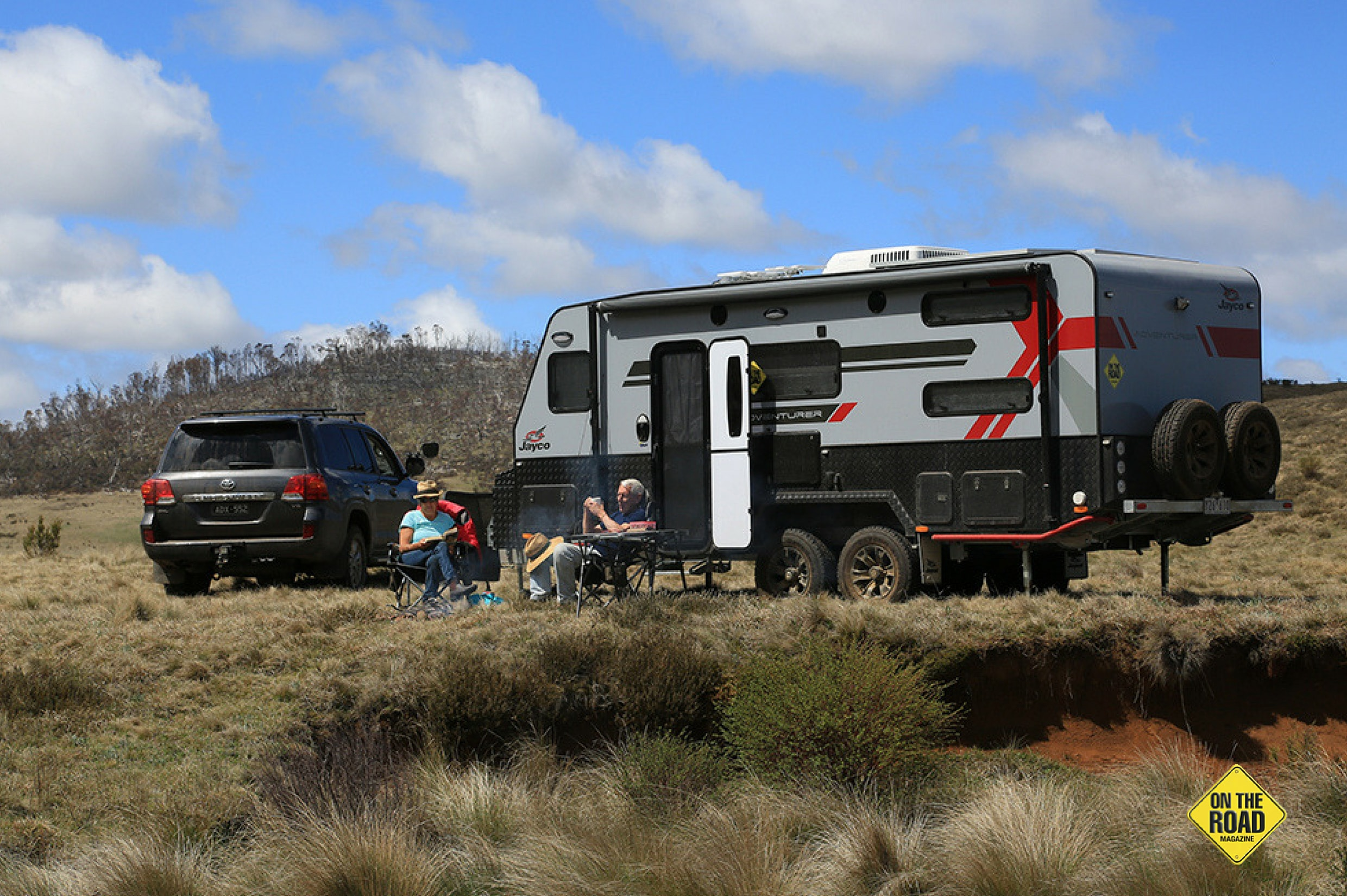 Camping with Jayco Adventurer 19.6-3