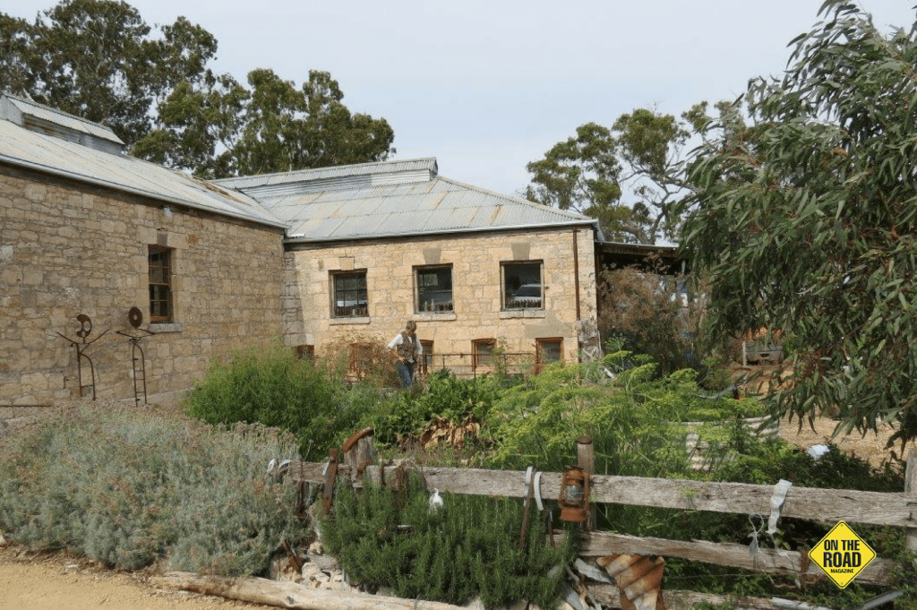 Glenroy shearing shed and produce garden