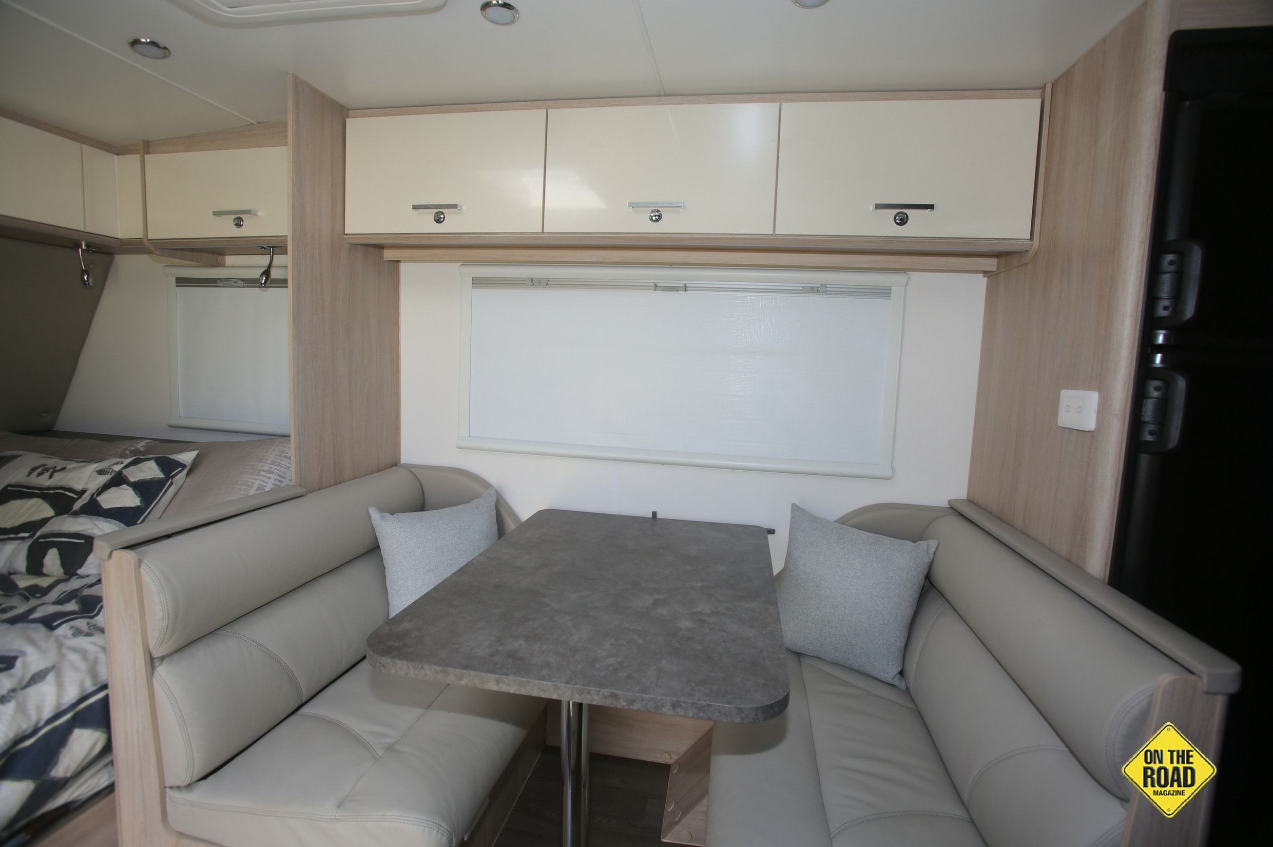 Jayco Adventures dining area