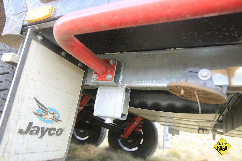 Jayco Adventures towing capability is impressive