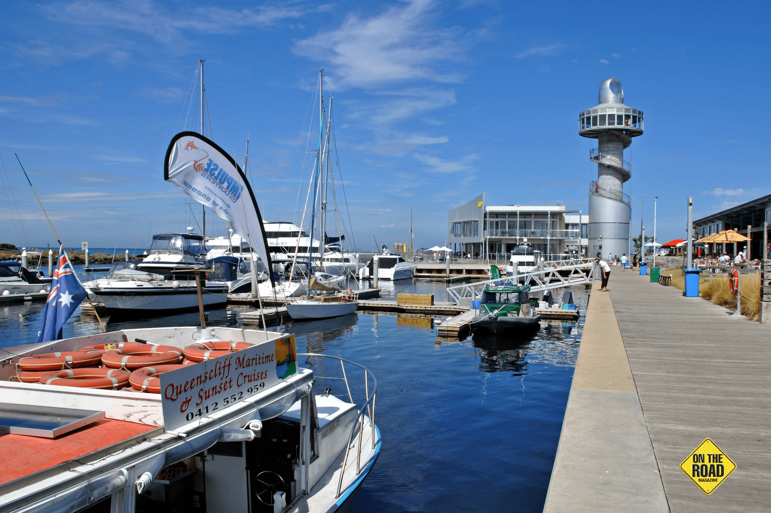 Marina and retail precinct