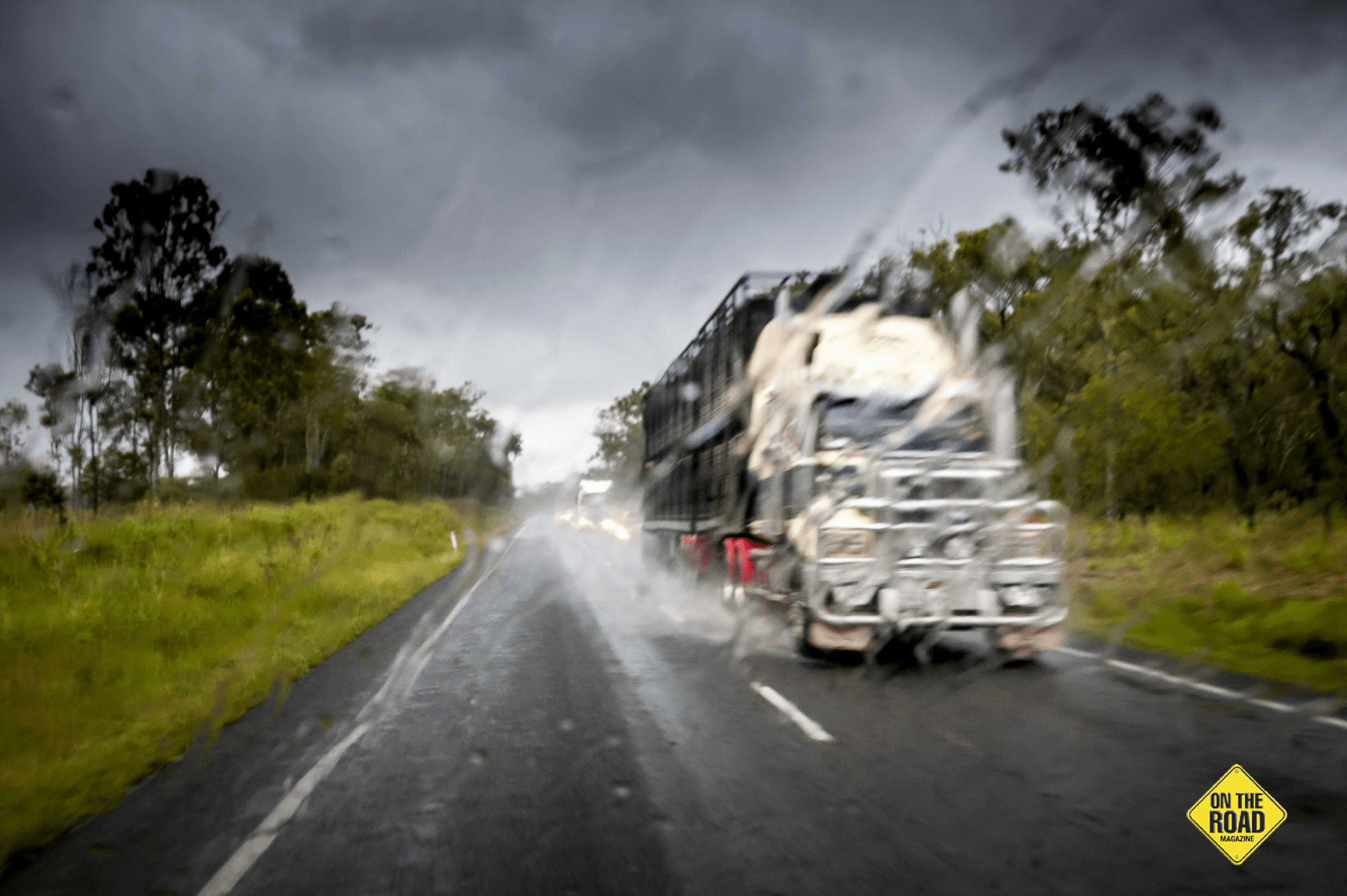 Across the top, cyclones and wet season storms can strike anytime