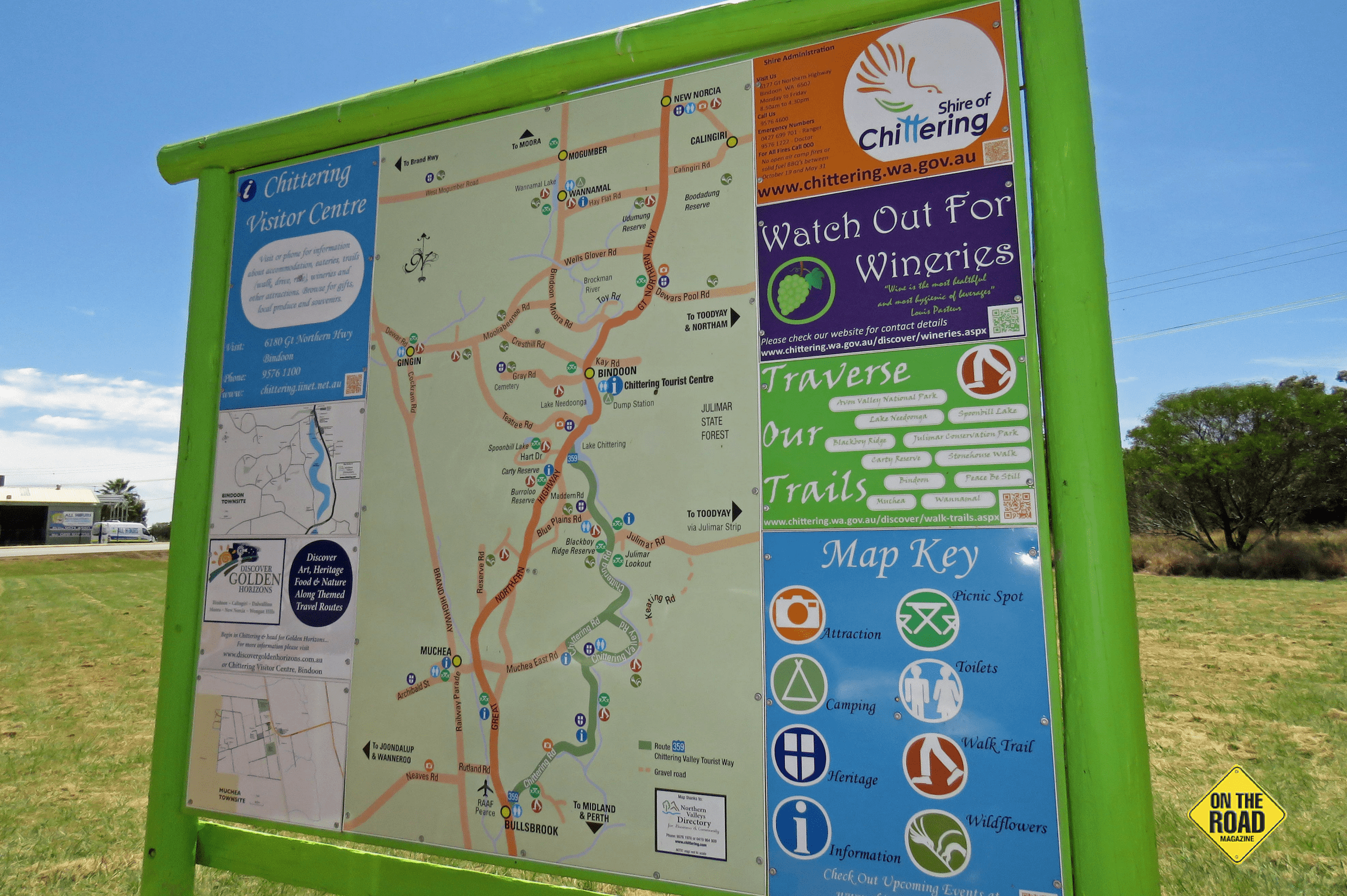 Visitor Info Centres