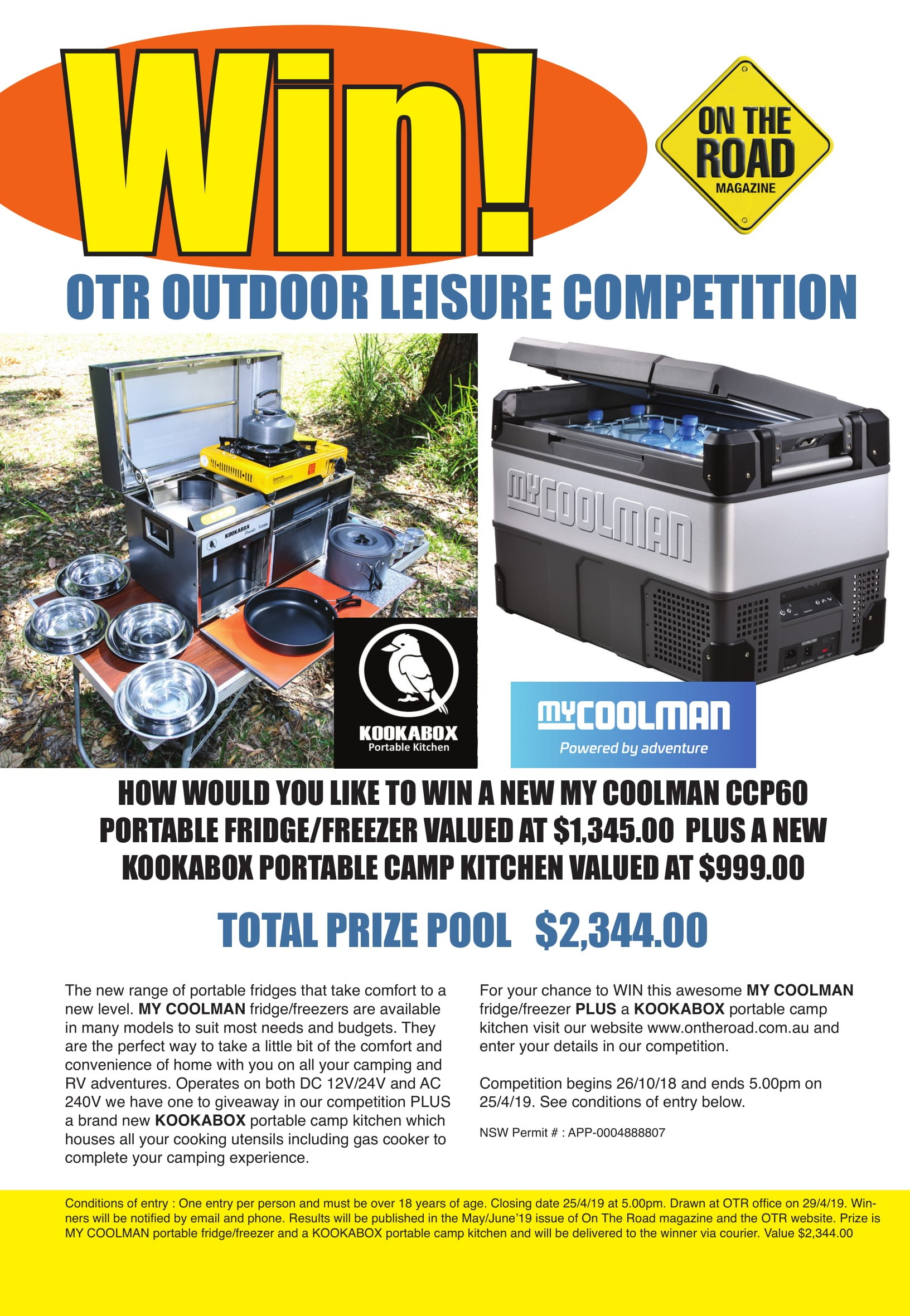 Win OTR Outdoor Leisure Competition