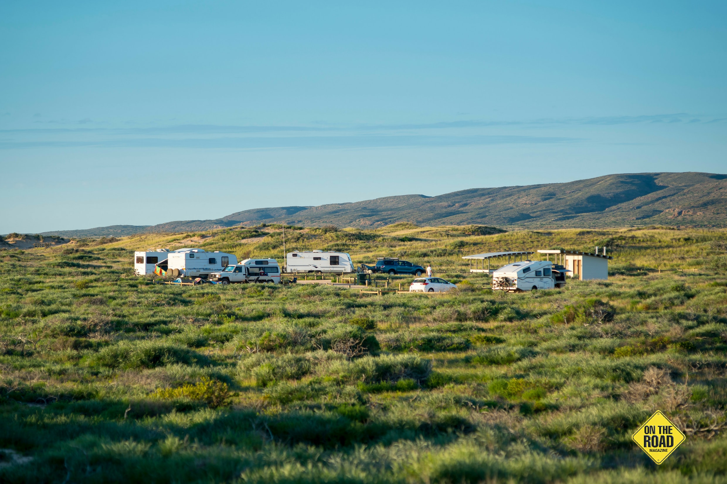 Coastal camps in Cape Range National Park offer easy access to Turquoise Bay