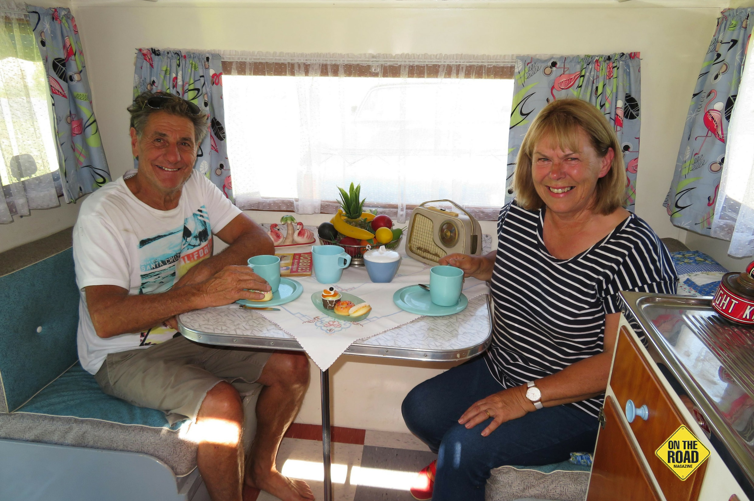 Dennis and Sandra Virgona are passionate and proud owners of their little van
