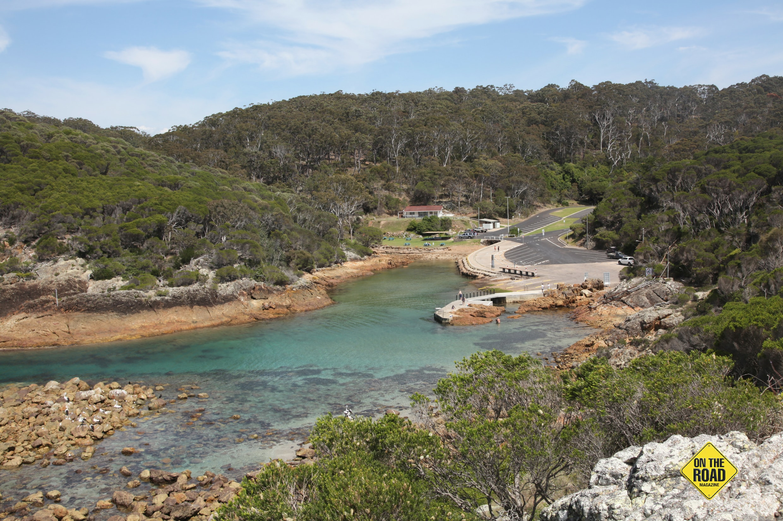 Ocean boat ramp at Kianinny Bay has all the facilities
